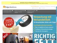 Ranking Webseite felgen-kartons.de
