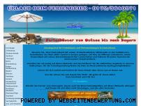 Ranking Webseite feriengeier.de