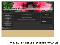 Ranking Webseite ferienwelten-erleben.de