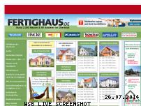 Ranking Webseite fertighaus.de