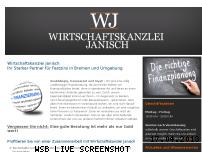 Ranking Webseite festzins-bremen.de