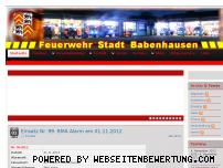 Ranking Webseite ff-babenhausen.de