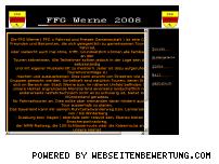Ranking Webseite ffg-werne.de