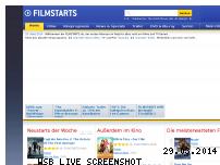 Informationen zur Webseite filmstarts.de