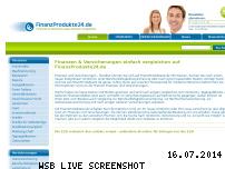 Informationen zur Webseite finanzprodukte24.de