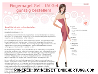 Ranking Webseite fingernagel-gel.com