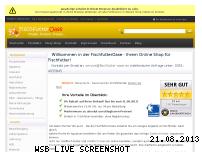 Informationen zur Webseite fischfutter-oase.de