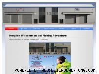 Ranking Webseite fishing-adventure.com
