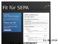 Ranking Webseite fit-fuer-sepa.de