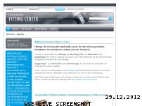 Ranking Webseite fitting-center.de
