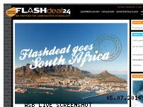Informationen zur Webseite flashdeal24.com