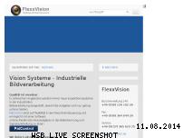 Informationen zur Webseite flexxvision.de
