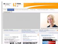 Informationen zur Webseite fona.de