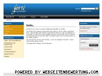 Ranking Webseite forte-shop.com