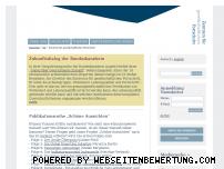 Ranking Webseite fortschrittszentrum.de