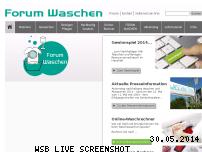 Ranking Webseite forum-waschen.de