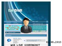 Ranking Webseite forum.epi-craft.de