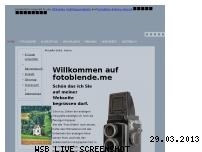 Informationen zur Webseite fotoblende.me