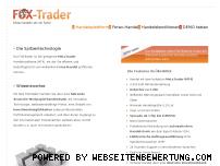 Ranking Webseite fox-trader.de