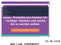 Ranking Webseite franken-provence-shop.de
