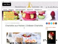 Informationen zur Webseite franzoesischkochen.de