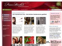 Ranking Webseite frauenhandbuch.com