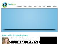 Ranking Webseite free-days.de