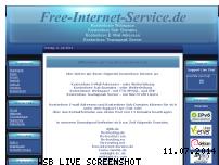 Informationen zur Webseite free-internet-service.de