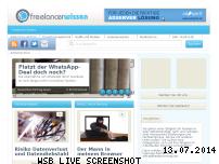 Ranking Webseite freelancerwissen.de