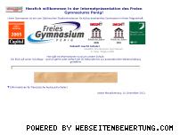 Ranking Webseite freiesgymnasiumpenig.de