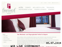 Informationen zur Webseite freihof-prichsenstadt.de