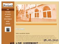 Informationen zur Webseite freiland.ferlemann.org