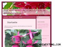 Ranking Webseite fuchsien-berlin-brandenburg.de