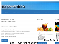 Ranking Webseite funpowerdrink.at