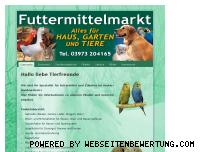 Ranking Webseite futtermittelmarkt.com