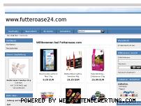 Informationen zur Webseite futteroase24.com