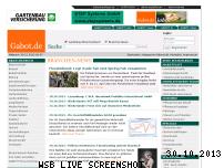 Ranking Webseite gabot.de