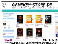 Ranking Webseite gamekey-store.de