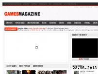 Informationen zur Webseite gamesmagazine.de
