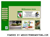 Ranking Webseite gartenbau-johannisthal.de