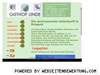 Ranking Webseite gasthof-linde-vlbg.at