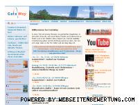 Ranking Webseite gateway-ev.de