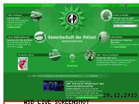 Ranking Webseite gdp.de