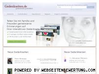 Ranking Webseite gedenkseiten.de