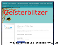 Ranking Webseite geisterbiltzer.jimdo.com