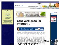 Ranking Webseite geldfisch.de