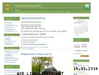 Ranking Webseite gemeinde-marschacht.de