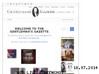 Ranking Webseite gentlemansgazette.com