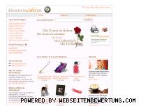Ranking Webseite geschenkidee.de