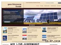 Ranking Webseite geschlossene-fonds.de